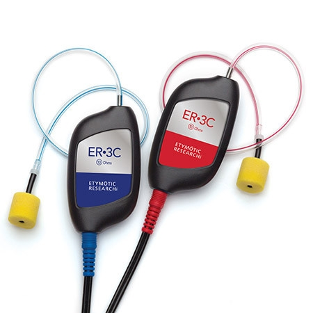 Inserthörer ER-3C, 10 Ohm von Etymotic Research