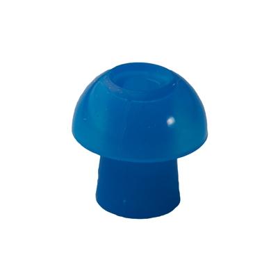 Ohrstöpsel mit rundem Schirm 11 mm, blau