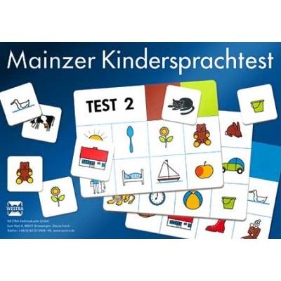 WESTRA CD04A ergänzendes Kartenset mit Bildmaterial für Mainzer Kindersprachtest