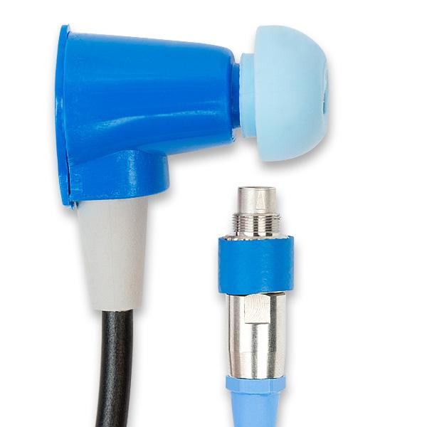 Blaue UGD-Sonde für DPOAE+ABR-Messungen für Otoport von Otodynamics