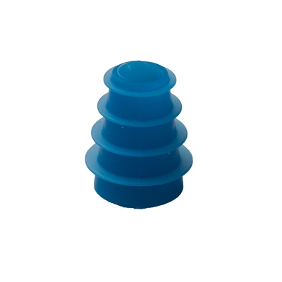 """Ohrstöpsel """"geriffelt"""" für Babys 4-7 mm, blau"""