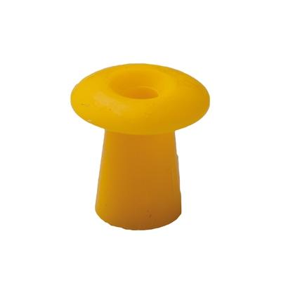 Ohrstöpsel mit geradem Schirm 11 mm, gelb