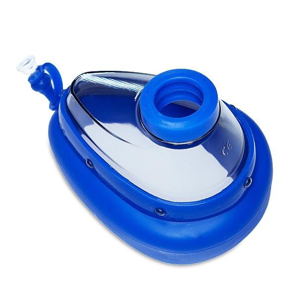 Atemmaske für Kinder (Größe 3 ) für Rhinomanometer - neue Version mit blauem Wulst