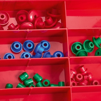 Ohrstöpselbox 50 Stück - für MRS Tympanometer R16M/R26M/R36M