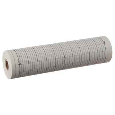 Papierrolle 140 mm breit, grauer Millimeter-Druck