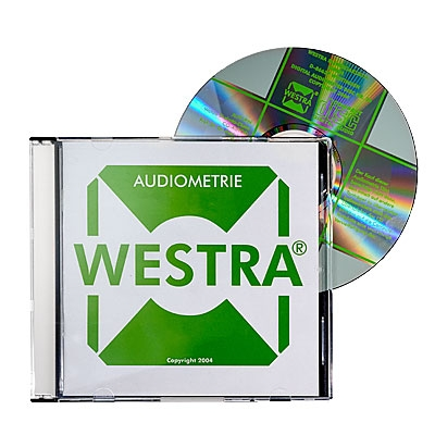 WESTRA CD08 -Dreinsilber-Test - Freiburger Wörter mit speziellem Störgeräusch