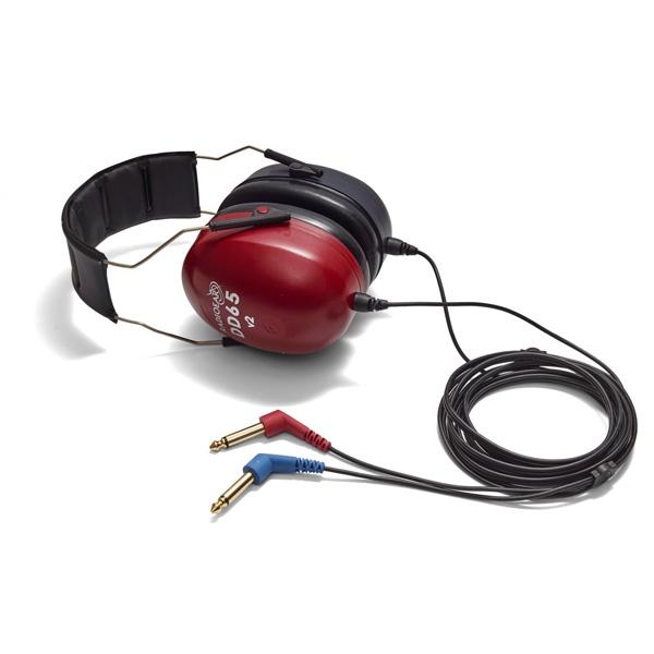 Radioear DD65 v2 Audiometrie-Kopfhörer mit schalldämmenden Peltorkappen