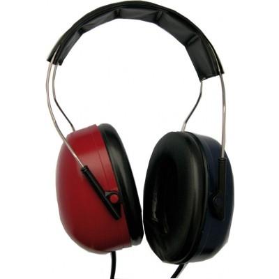Schalldämmende Peltorkappen mit 2x6,3mm Klinkenkabel für TDH39