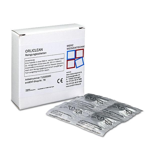 ORLICLEAN Reinigungstabletten für Ohrstöpsel 20 Stück
