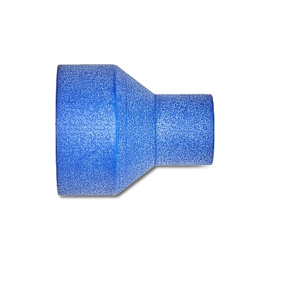 Blauer Adapter für Einmalfilter für MERZ Rhino®