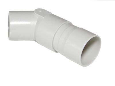 Krümmer 45° mit Verlängerung für JAEGER Flowscreen