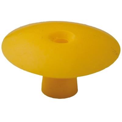 Ohrstöpsel mit geradem Schirm 22 mm, gelb