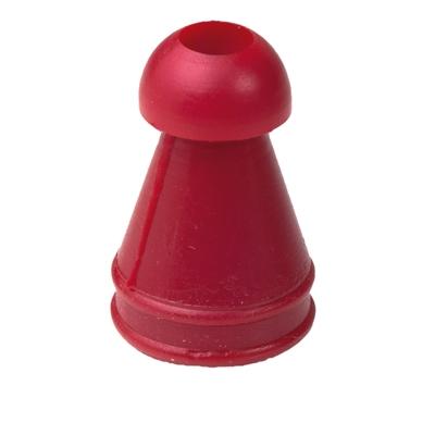 Ohrstöpsel 8 mm, rot, für OAE/Tymp-Sonden und Inserthörer