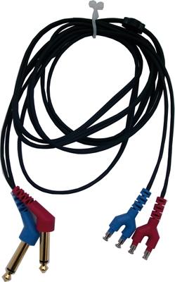 Kabel mit 2 x 6,3 mm mono Klinkenstecker für ohraufliegenden TDH39/DD45