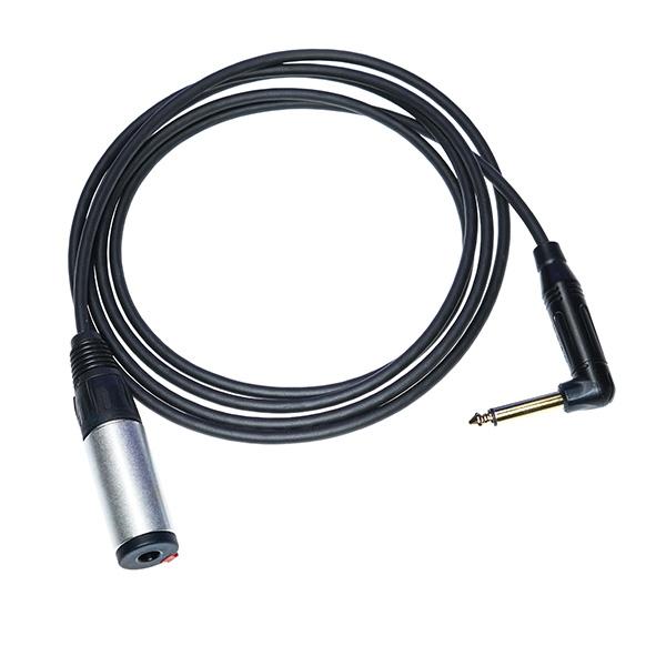 Kabelverlängerung mit 6,3 mmm Klinke auf 6,3 mm Buchse (mono) für B71 / B81