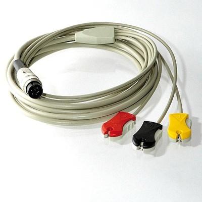 Elektrodenkabel für HORTMANN BERA Anschlußkabel mit 5-poligem DIN-Stecker